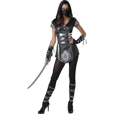 Ninja Warrioress Women's Costume