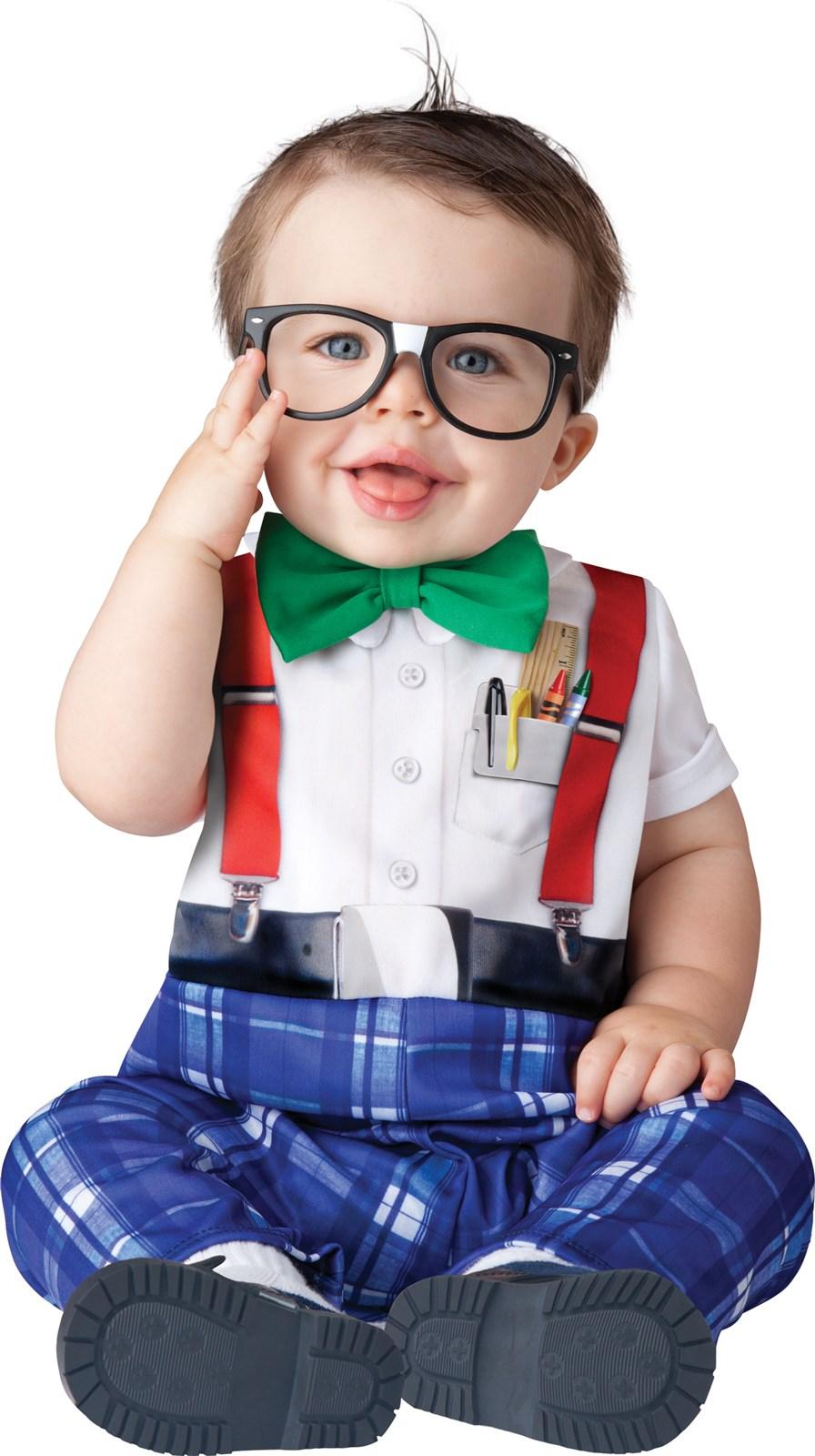 Nursery Nerd Costume For Babies