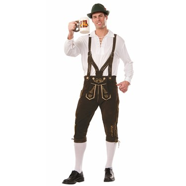 Oktoberfest Guy Elite Adult Costume