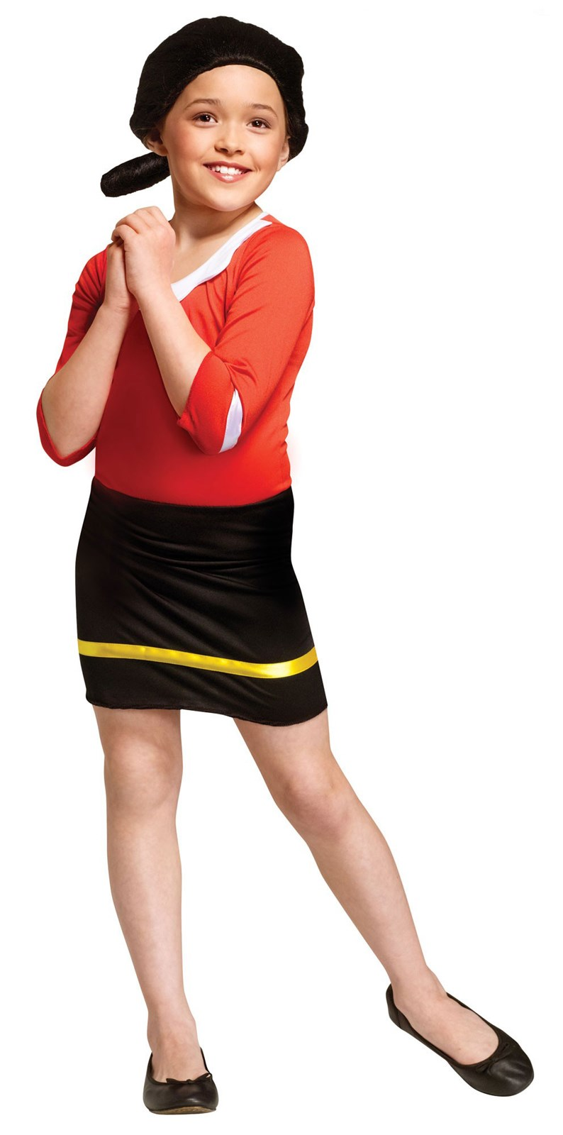 Olive Oyl Costume For Girls
