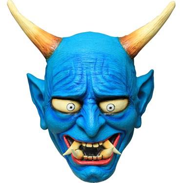 Oni Demon Blue Mask