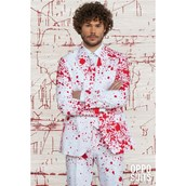 OppoSuit Bloody Harry Men's Suit and Tie Set