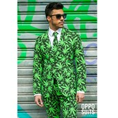 OppoSuit Cannaboss Men's Suit and Tie Set