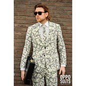 OppoSuit Cashanova Men's Suit and Tie Set