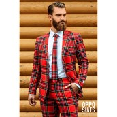 OppoSuit Lumberjack Men's Suit and Tie Set