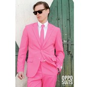 OppoSuit Mr. Pink Men's Suit and Tie Set