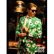 OppoSuit Poker Face Men's Suit and Tie Set
