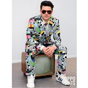 OppoSuit Testival Men's Suit and Tie Set