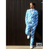 OppoSuit The Bavarian Men's Suit and Tie Set