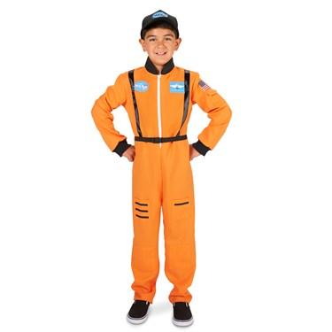 Orange Astronaut Child Costume