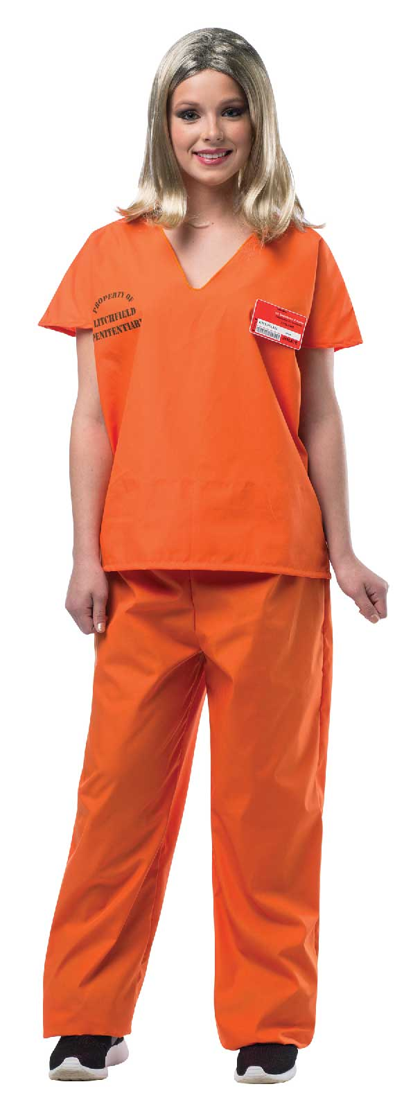 Orange And Black Jumpsuit