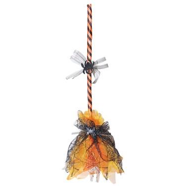 Orange Shaking Broom