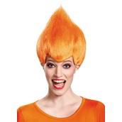 Orange Troll Adult Wig
