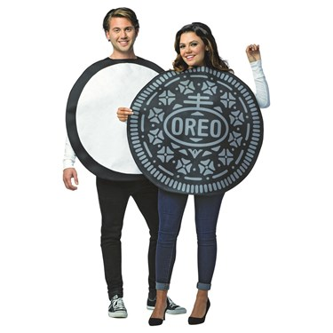 Oreo Couples Adult Costume