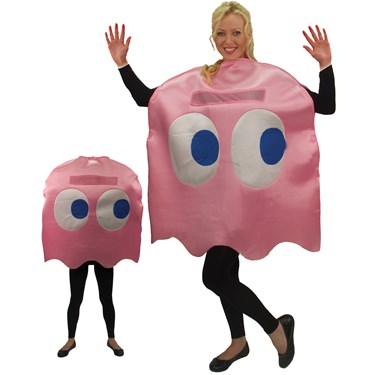 Pac-Man Pinky Deluxe Adult Costume