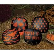 Paint & Peel Decorative Pumpkin Kit