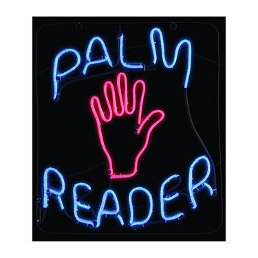 Palm Reader LED Neon Sign
