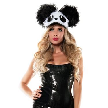 Panda Fuzzy Hat
