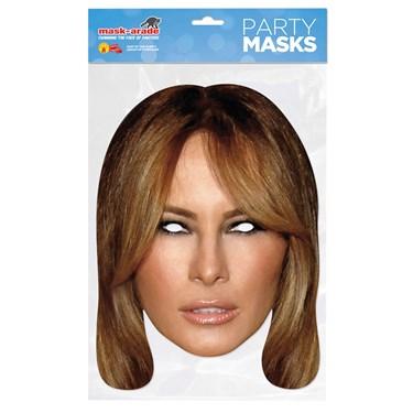 Paper Melania Mask