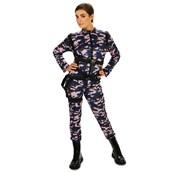 Paratrooper Female Jumpsuit Adult Plus Costume