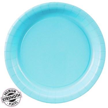 Pastel Blue (Light Blue) Dessert Plates (24 count)