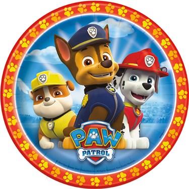 PAW Patrol Dessert Plates (8)