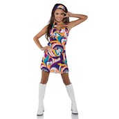 Peace Hippie Dress - Womens Costume