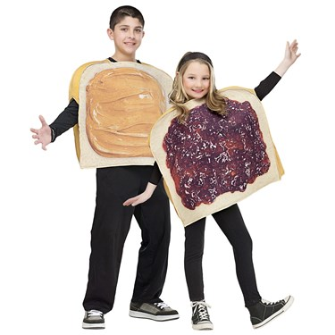Peanut Butter & Jelly Costume For Kids