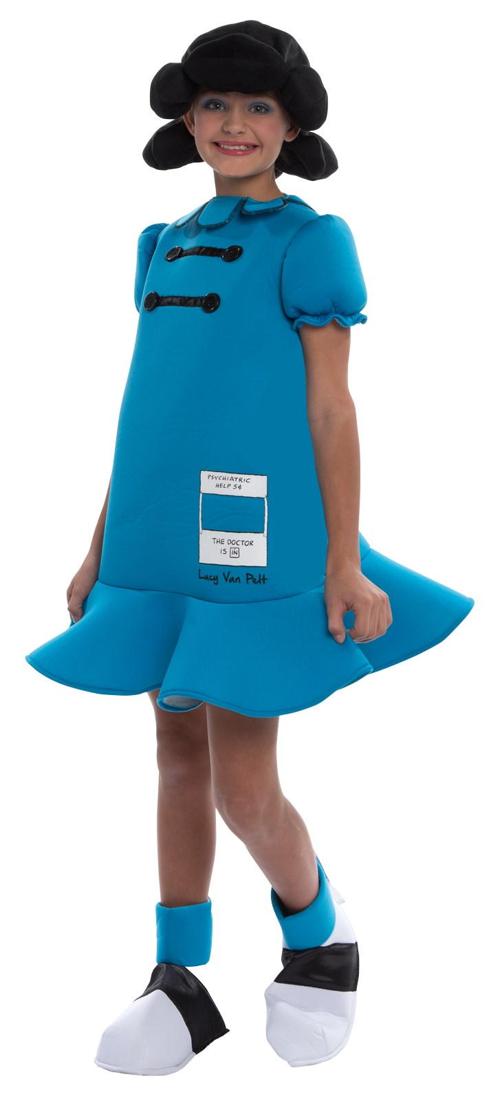 Peanuts Lucy Deluxe Costume For Children Buycostumes Com