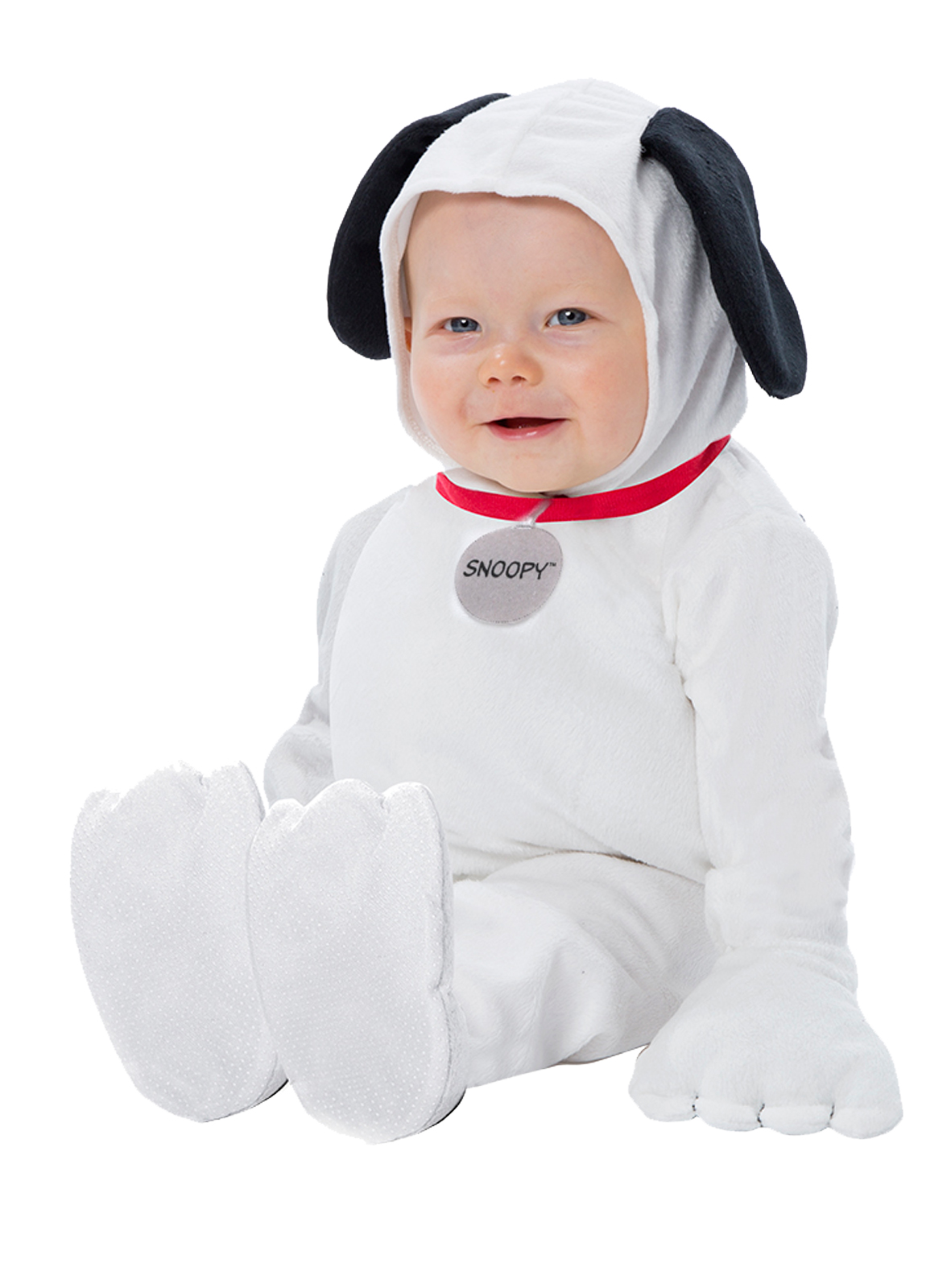 Peanuts Plush Toddler Snoopy Jumpsuit Costume