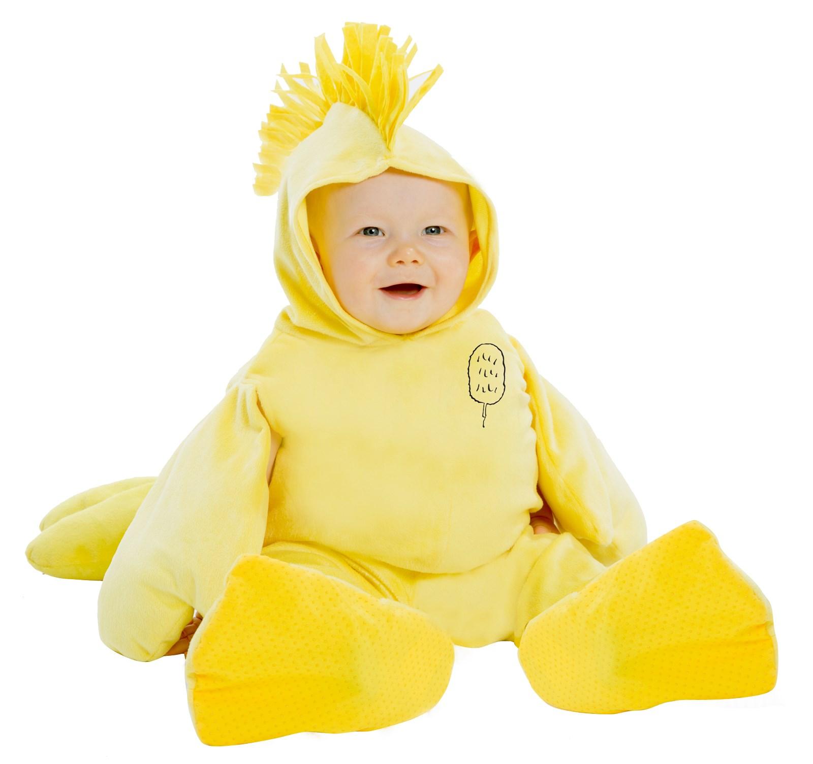 Peanuts: Plush Woodstock Jumpsuit Costume for Infants ...