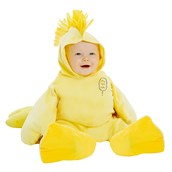Peanuts: Plush Woodstock Jumpsuit Costume for Infants