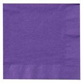 Perfect Purple (Purple) Lunch Napkins (50 count)