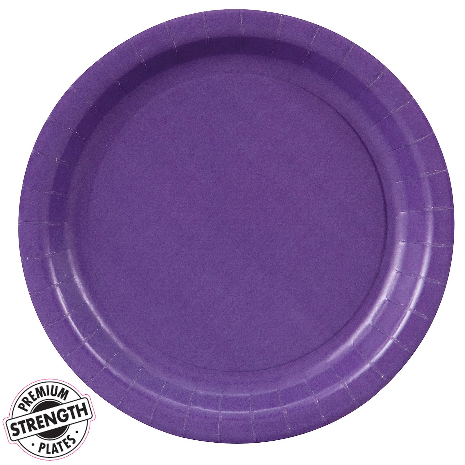 perfect purple purple paper dessert plates 24 count. Black Bedroom Furniture Sets. Home Design Ideas