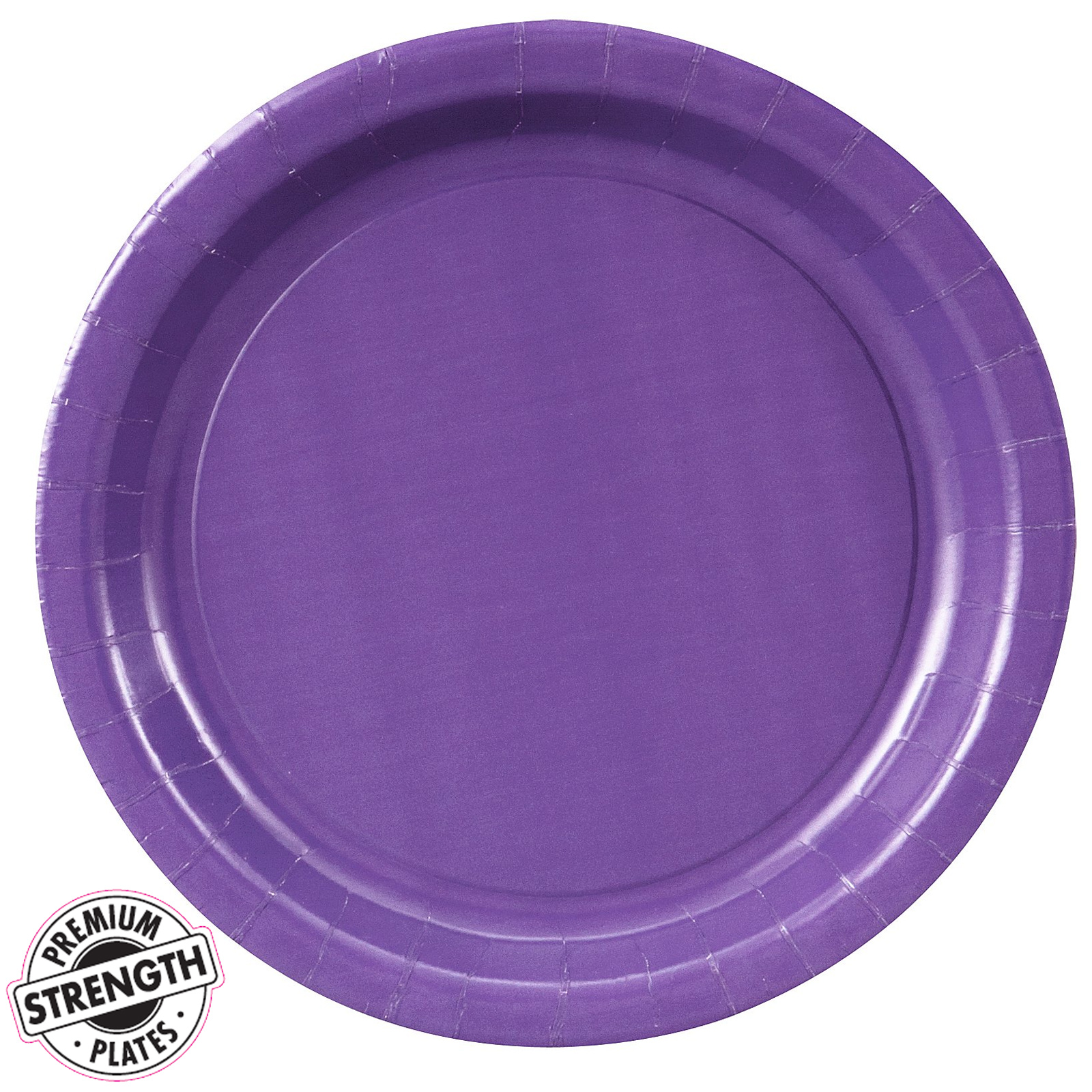 sc 1 th 225 & Perfect Purple (Purple) Paper Dinner Plates (24 count) | BuyCostumes.com