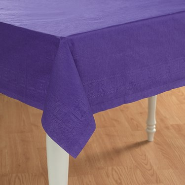Perfect Purple (Purple) Paper Tablecover