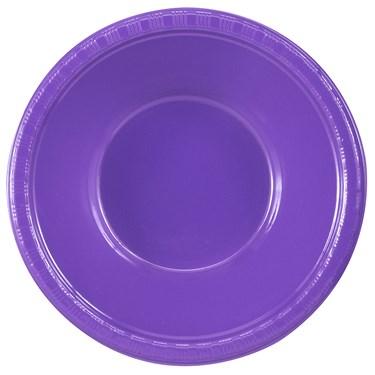 Perfect Purple (Purple) Plastic Bowls (20 count)