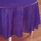 Perfect Purple (Purple) Round Tablecover