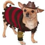 Pet Freddy Kreuger Costume