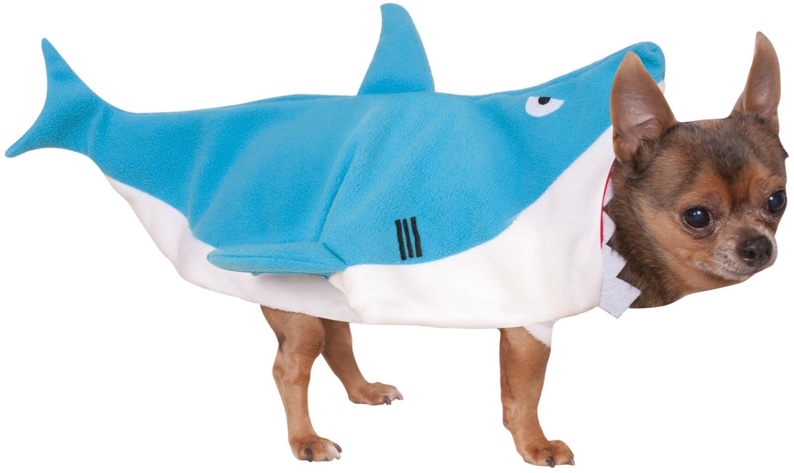 Pet Shark Jumpsuit Costume
