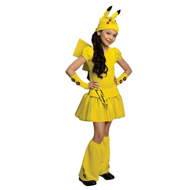 Pikachu Child Costume