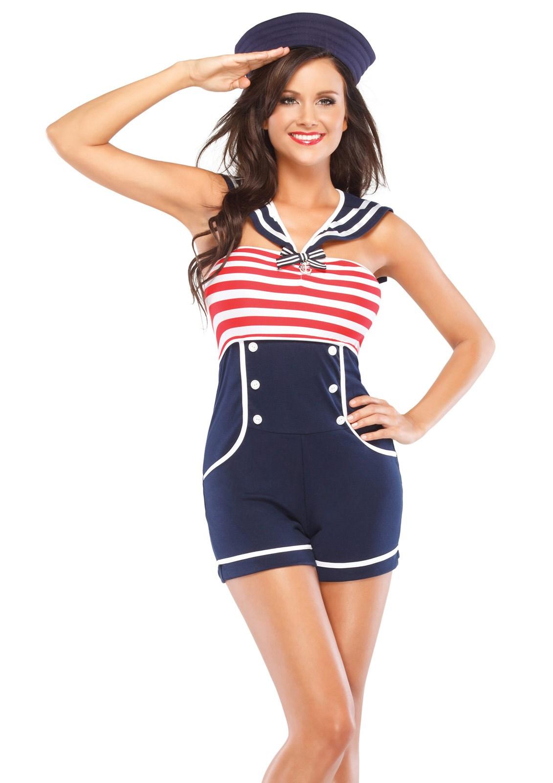 Adult sailor suit