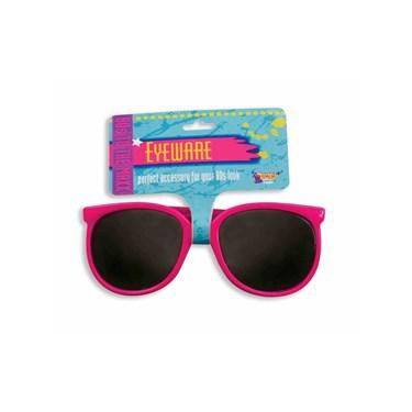 Pink 80s Glasses