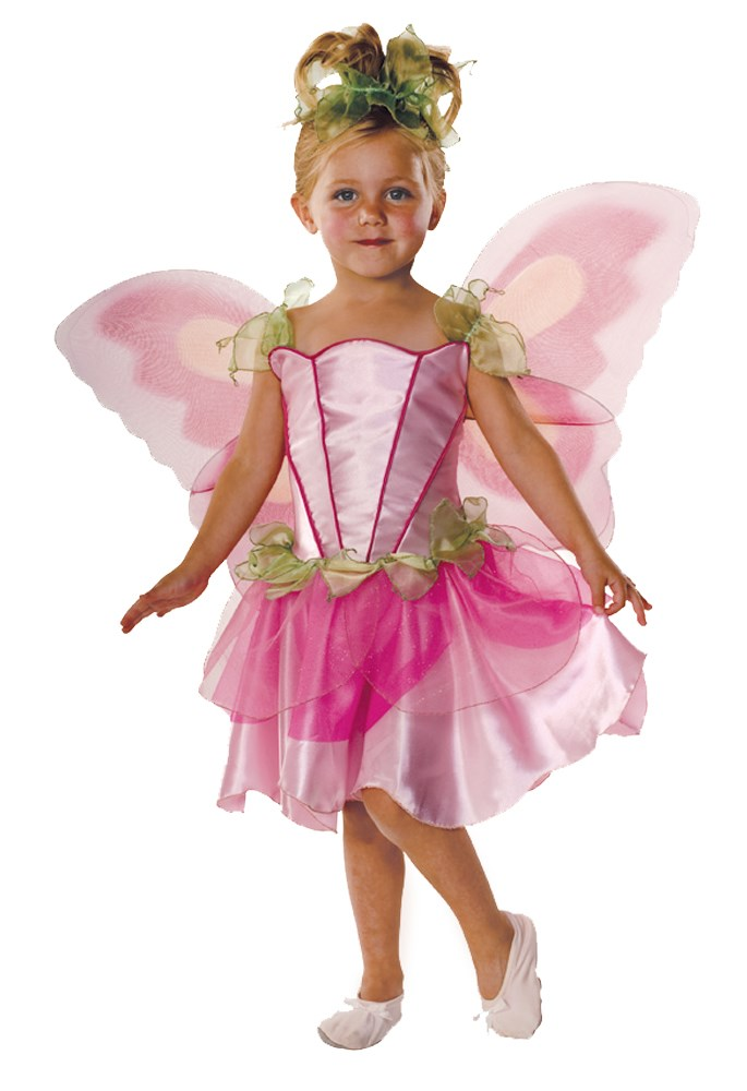 Pink Butterfly Fairy Child Costume | BuyCostumes.com