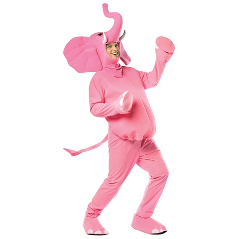 Pink Elephant Adult Costume