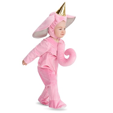 Pink Elephant Toddler Costume
