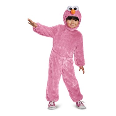 Pink Elmo Comfy Fur Infant Costume
