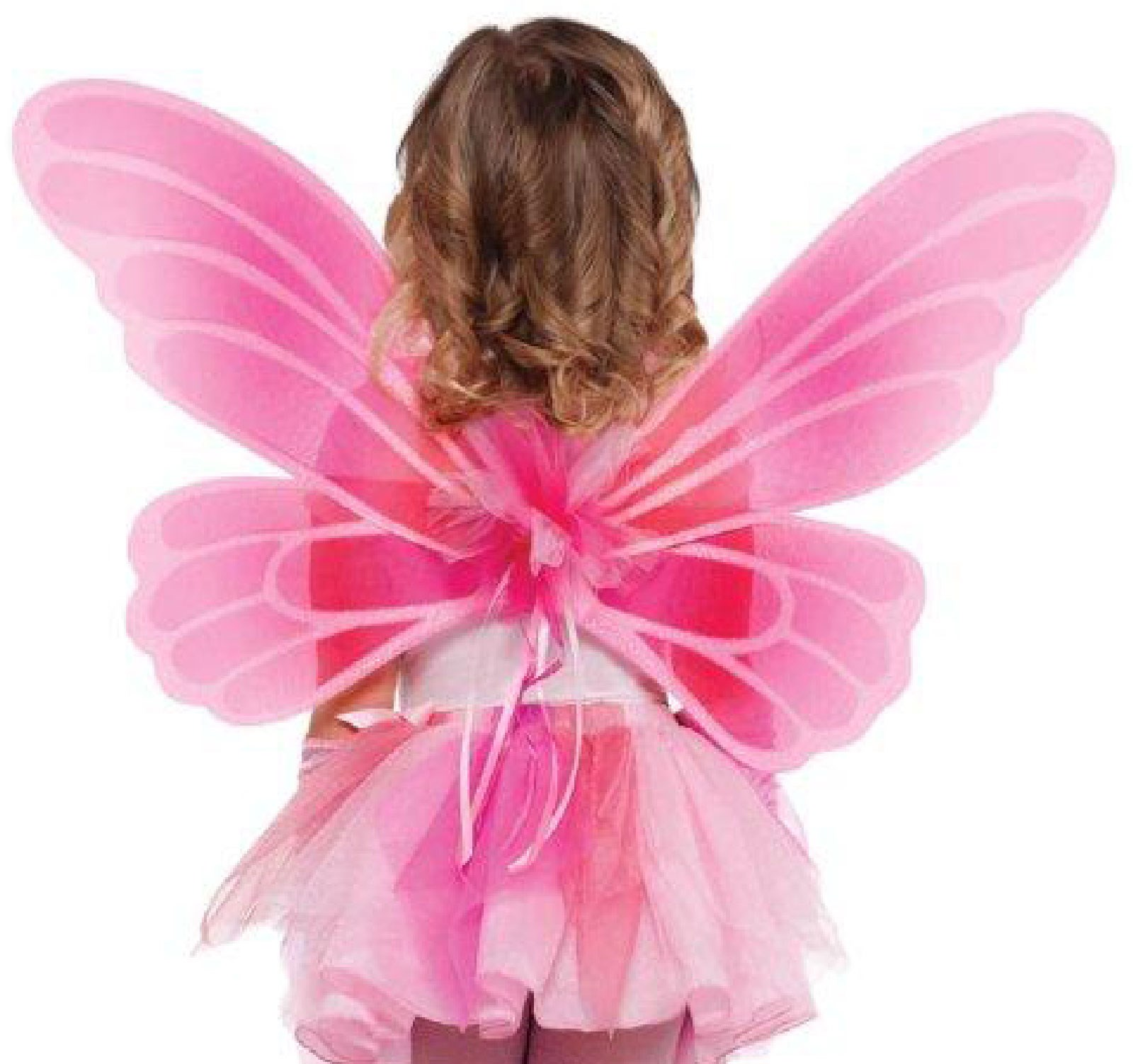 Pink Fairy Princess Wings For Girls