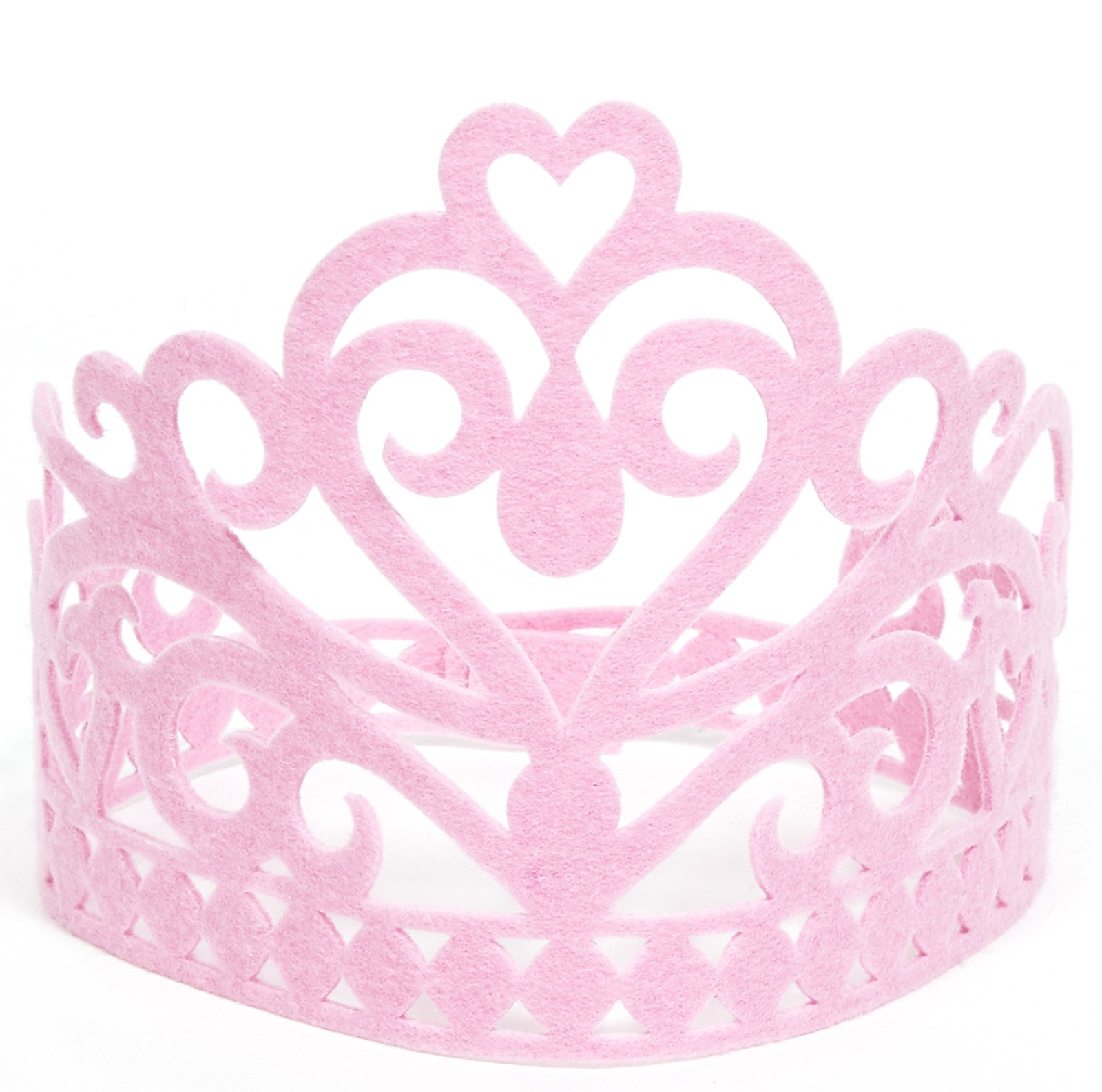Pink Felt Fairytale Crown