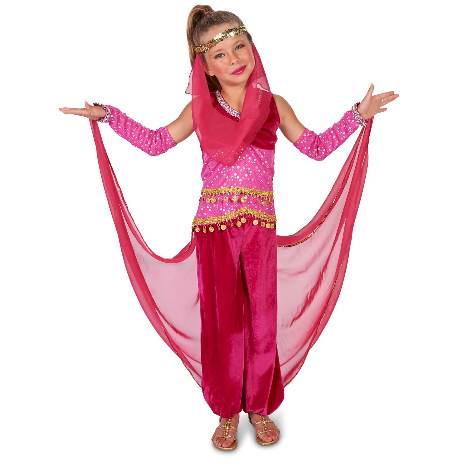 pink genie child costume buycostumescom